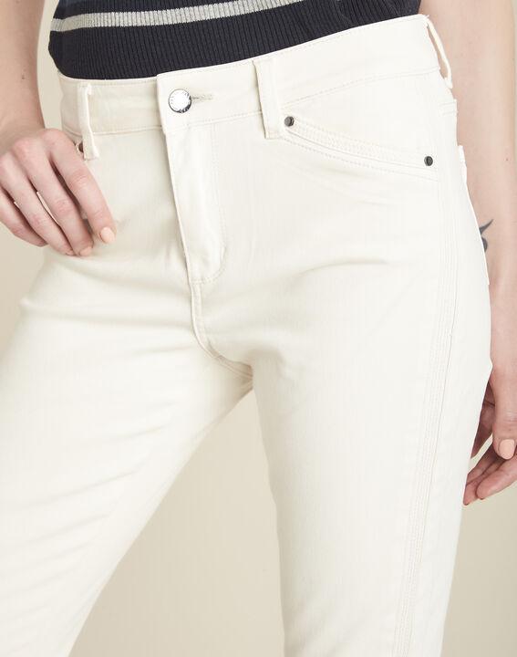 Beige slim fit 7/8-jeans Opera (3) - 37653