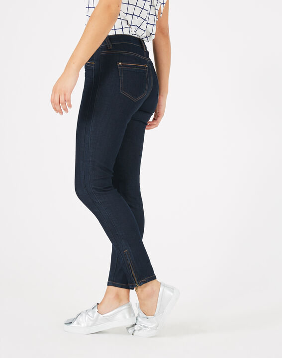 Pia raw-cut 7/8 length jeans (3) - 1-2-3