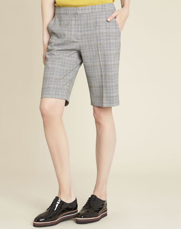 Hinox grey shorts with Prince of Wales design (2) - 1-2-3