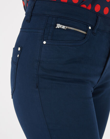 Pantalon bleu slim William (4) - 1-2-3