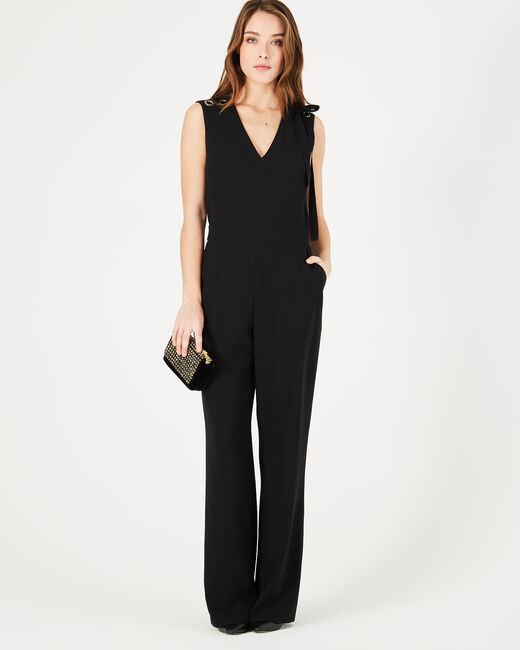 Great black playsuit with eyelets (1) - 1-2-3