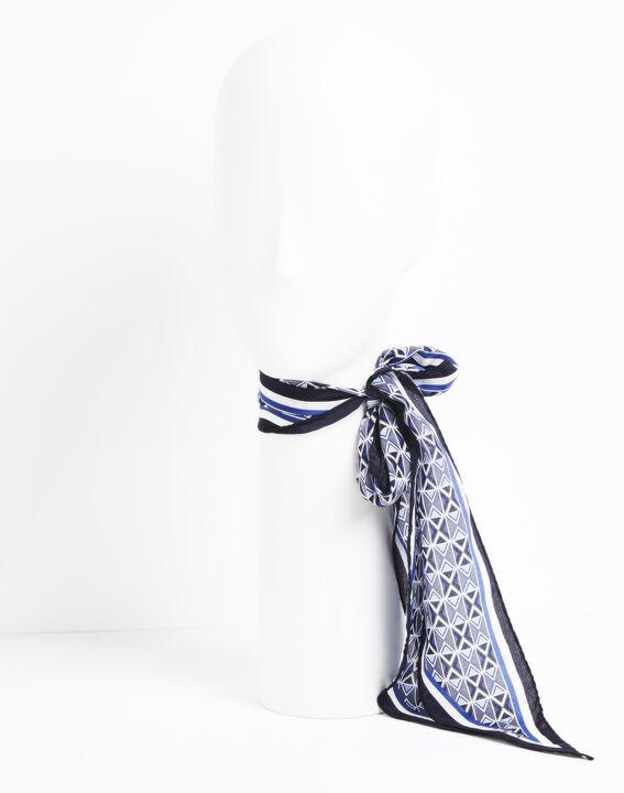 Cravate ceinture en soie imprimée Flavian PhotoZ | 1-2-3