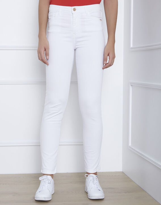 Witte slim-fit jeans Vendome PhotoZ | 1-2-3