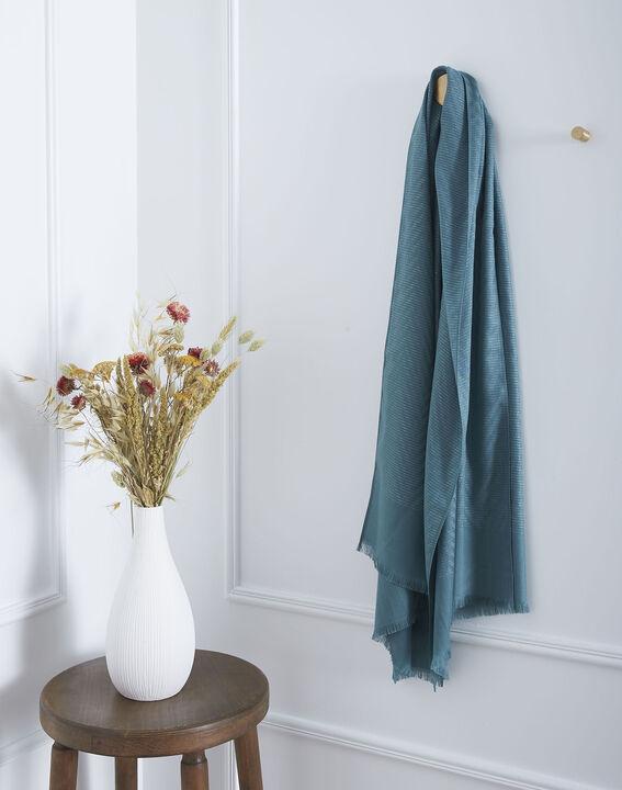 Foulard vert irisé Osiris (1) - Maison 123
