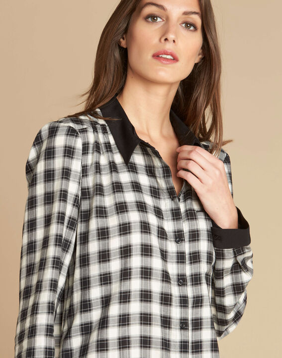 Dominique check shirt (1) - 1-2-3
