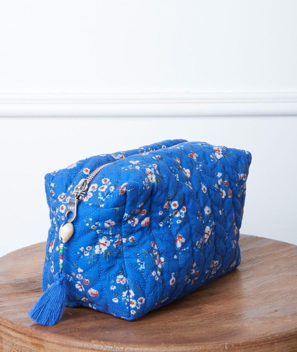 Pochette en coton imprimé fleuri Diane PhotoZ | 1-2-3