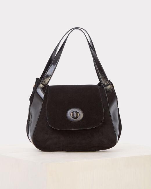 Raphael black leather bag (2) - 1-2-3