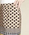 Kurtys yellow polka dot printed skirt PhotoZ | 1-2-3