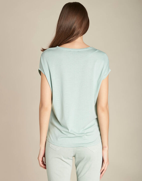 Tee-shirt amande coton lyocell Eaven (4) - 1-2-3