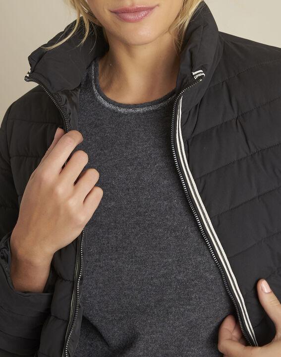 Pepite short black zipped down jacket (3) - 1-2-3