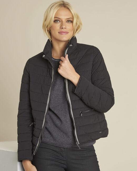 Pepite short black zipped down jacket (2) - 1-2-3