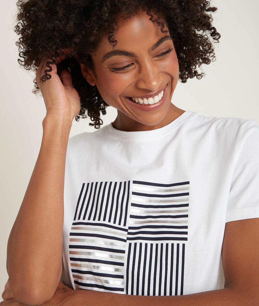 Tee-shirt en coton biologique imprimé Django PhotoZ | 1-2-3