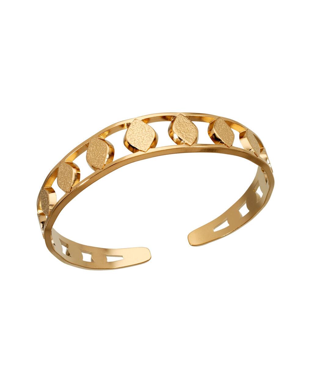 Bracelet jonc or pétale Bijoux Léone PhotoZ   1-2-3