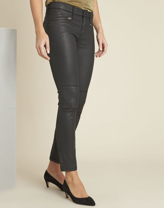 Zwarte slim-fit jeans Turenne PhotoZ | 1-2-3