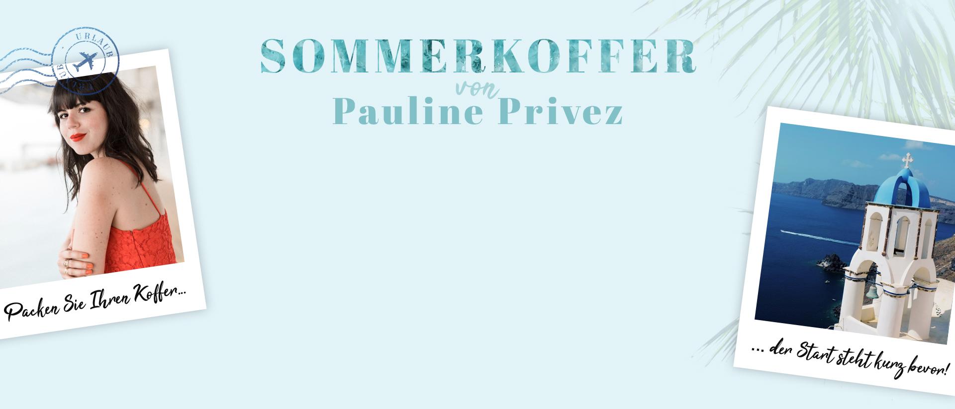 De Zomerkoffer van  Pauline Privez
