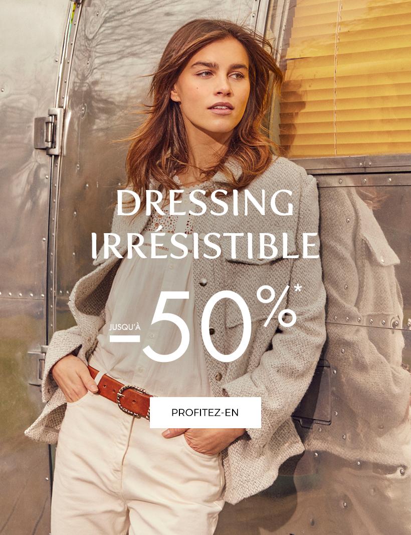 Dressing Irrésistible : jusqu'à -50%