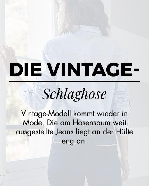 Die vintage-schlaghose