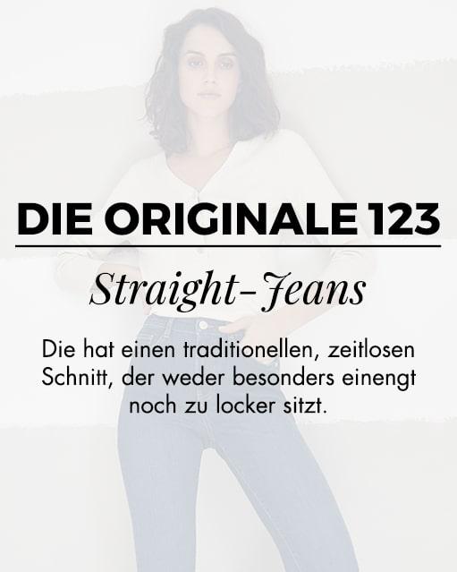 Die originale 123 straight-jeans