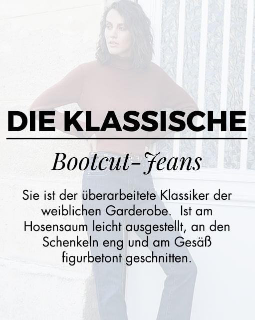 Die klassieke bootcut