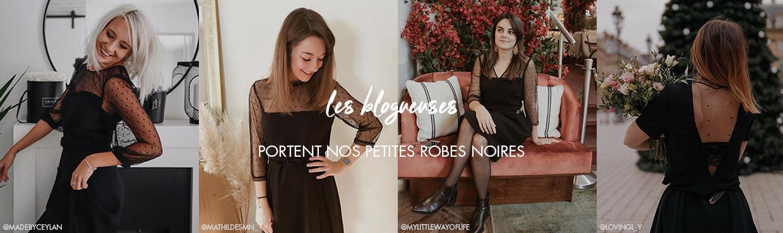 La collection Les Petites Robes Noires portée par les blogueuses