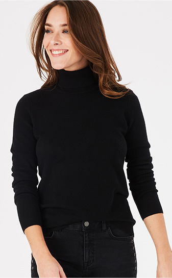 PERCENEIGE CASHMERE SWEATER