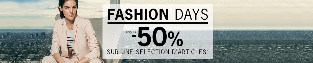 Fashion Days jusqu'à -50%